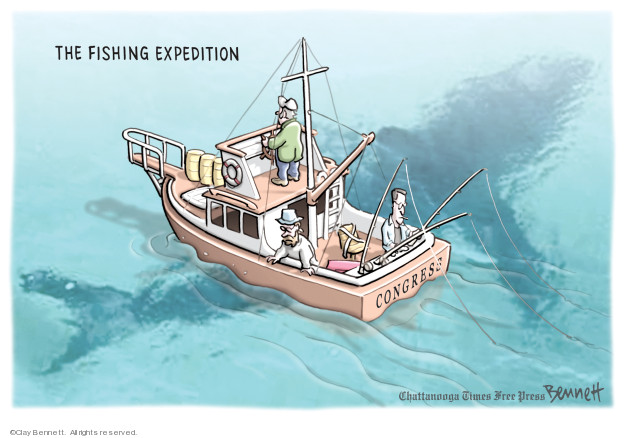 Cartoonist Clay Bennett  Clay Bennett's Editorial Cartoons 2019-03-09 congressional investigation