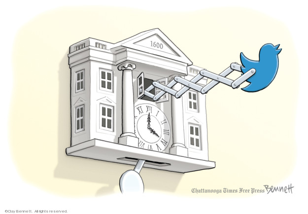 Cartoonist Clay Bennett  Clay Bennett's Editorial Cartoons 2019-03-24 White House