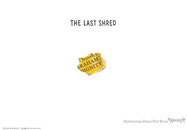 Cartoonist Clay Bennett  Clay Bennett's Editorial Cartoons 2019-03-22 republican politician
