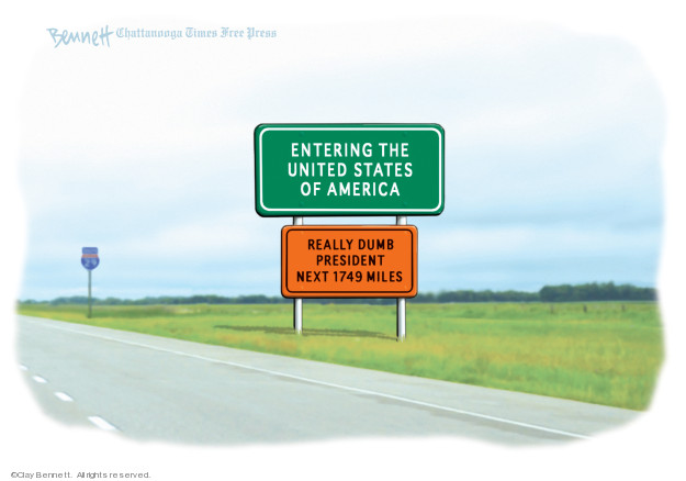 Cartoonist Clay Bennett  Clay Bennett's Editorial Cartoons 2019-04-03 editorial