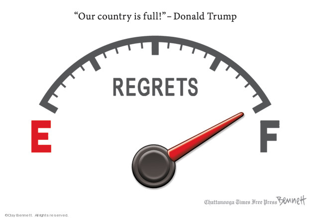 Clay Bennett  Clay Bennett's Editorial Cartoons 2019-04-09 2016 election