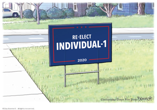 Cartoonist Clay Bennett  Clay Bennett's Editorial Cartoons 2019-04-27 campaign