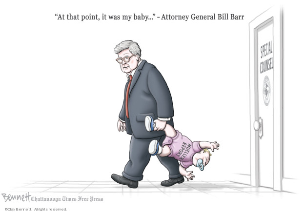 Clay Bennett  Clay Bennett's Editorial Cartoons 2019-05-05 Mueller Report