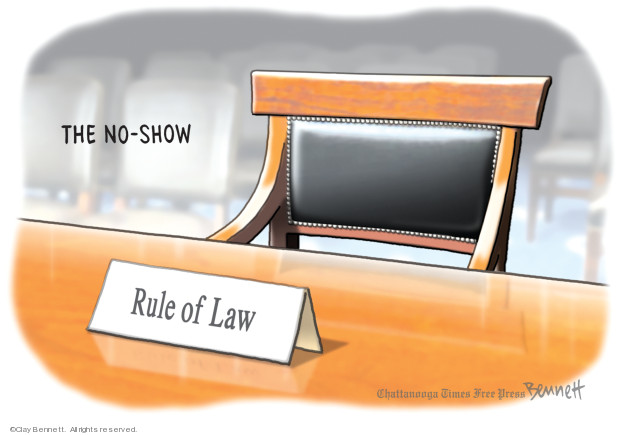Cartoonist Clay Bennett  Clay Bennett's Editorial Cartoons 2019-05-03 Donald Trump Lawyers
