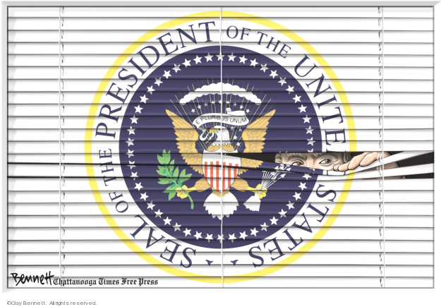 Clay Bennett  Clay Bennett's Editorial Cartoons 2019-05-12 Donald