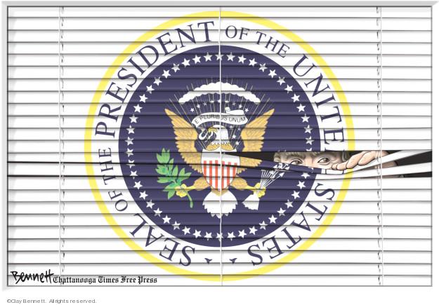 Cartoonist Clay Bennett  Clay Bennett's Editorial Cartoons 2019-05-12 state