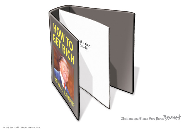 Clay Bennett  Clay Bennett's Editorial Cartoons 2019-05-11 Donald