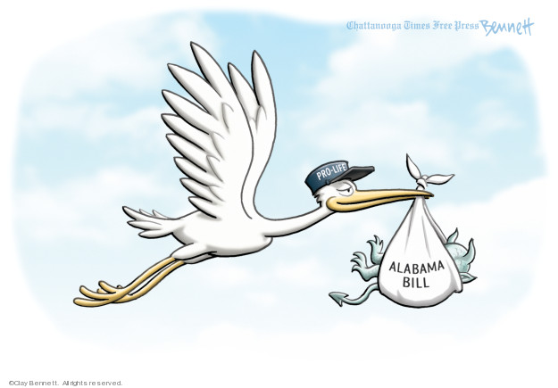 Cartoonist Clay Bennett  Clay Bennett's Editorial Cartoons 2019-05-16 state politician