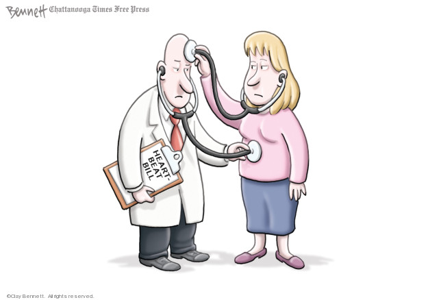 Cartoonist Clay Bennett  Clay Bennett's Editorial Cartoons 2019-05-17 bill