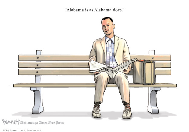 Alabama is as Alabama does.