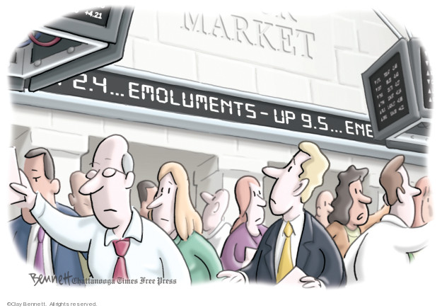 Clay Bennett  Clay Bennett's Editorial Cartoons 2019-06-12 Donald