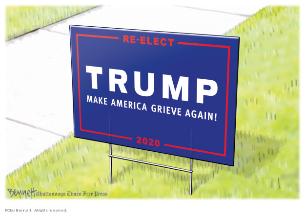Clay Bennett  Clay Bennett's Editorial Cartoons 2019-06-19 Donald