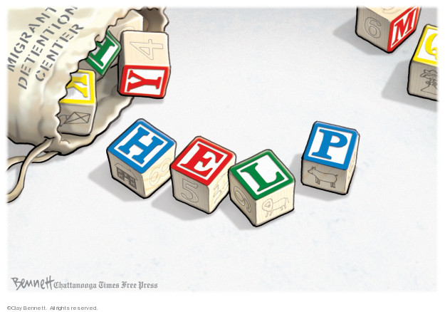Cartoonist Clay Bennett  Clay Bennett's Editorial Cartoons 2019-06-26 separation
