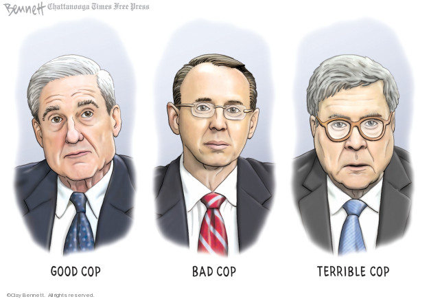 Clay Bennett  Clay Bennett's Editorial Cartoons 2019-06-30 2016 Election Russian Interference