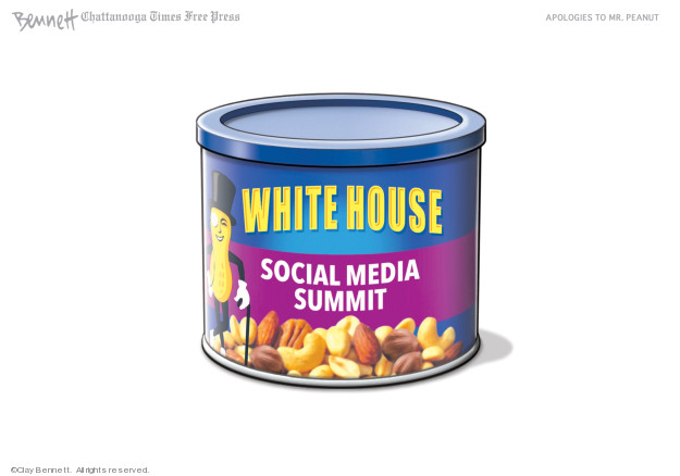 Clay Bennett  Clay Bennett's Editorial Cartoons 2019-07-12 social media politics
