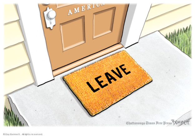 Cartoonist Clay Bennett  Clay Bennett's Editorial Cartoons 2019-07-20 American