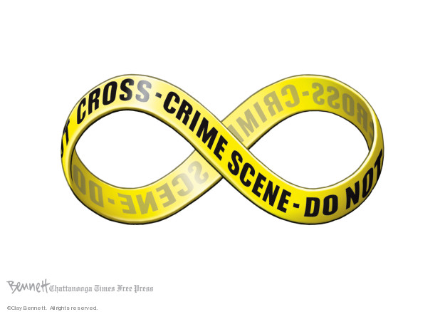 Cartoonist Clay Bennett  Clay Bennett's Editorial Cartoons 2019-08-09 attack