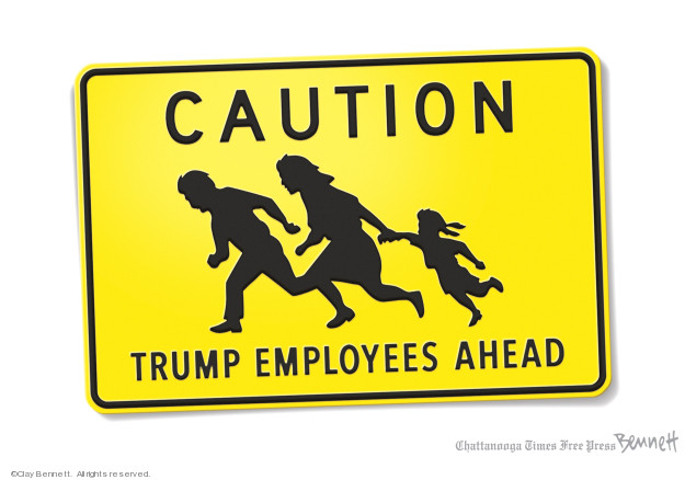 Clay Bennett  Clay Bennett's Editorial Cartoons 2019-08-18 immigration sign