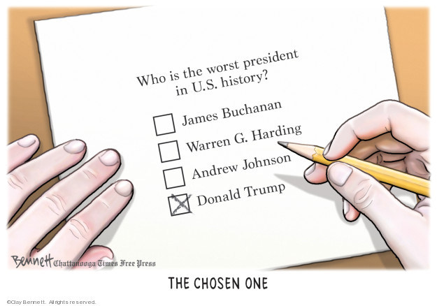 Cartoonist Clay Bennett  Clay Bennett's Editorial Cartoons 2019-08-23 American