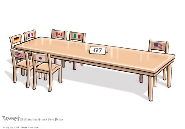 Clay Bennett  Clay Bennett's Editorial Cartoons 2019-08-24 Donald
