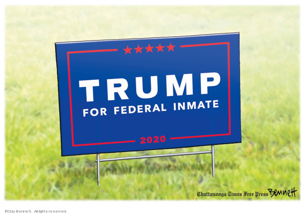 Cartoonist Clay Bennett  Clay Bennett's Editorial Cartoons 2019-09-01 office