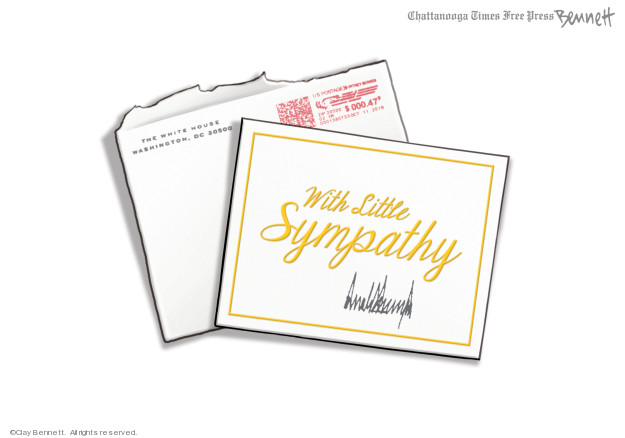 Clay Bennett  Clay Bennett's Editorial Cartoons 2019-09-04 Donald