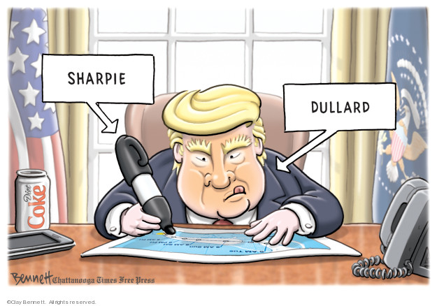 Cartoonist Clay Bennett  Clay Bennett's Editorial Cartoons 2019-09-07 editorial