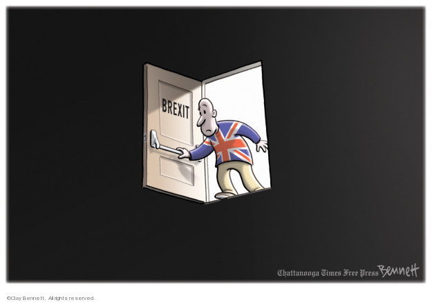 Cartoonist Clay Bennett  Clay Bennett's Editorial Cartoons 2019-09-13 vote
