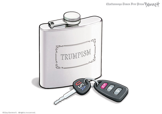 Clay Bennett  Clay Bennett's Editorial Cartoons 2019-09-15 Donald