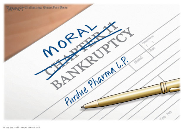 Cartoonist Clay Bennett  Clay Bennett's Editorial Cartoons 2019-09-17 editorial