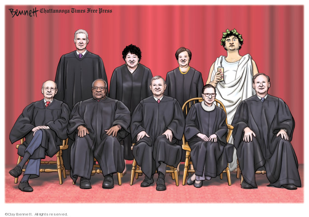 Cartoonist Clay Bennett  Clay Bennett's Editorial Cartoons 2019-09-22 accusation