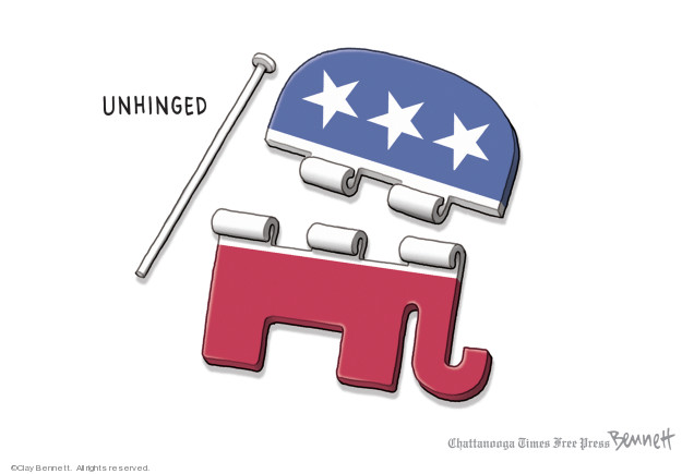 Cartoonist Clay Bennett  Clay Bennett's Editorial Cartoons 2019-10-01 2020 election