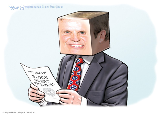 Cartoonist Clay Bennett  Clay Bennett's Editorial Cartoons 2019-10-05 state politician