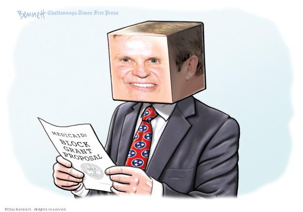 Clay Bennett  Clay Bennett's Editorial Cartoons 2019-10-05 health care