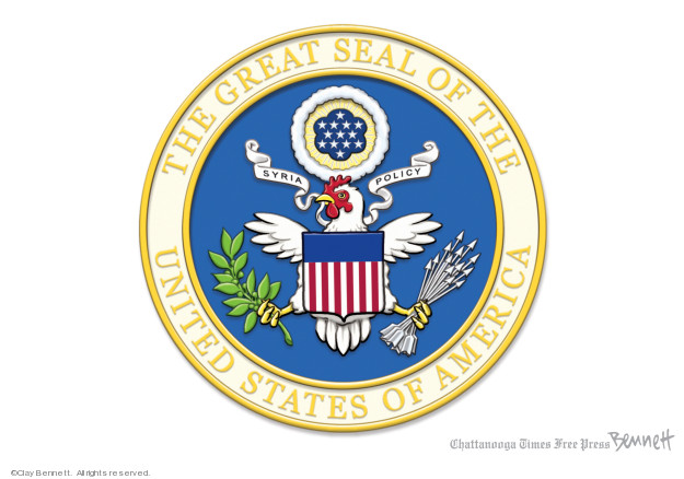 Cartoonist Clay Bennett  Clay Bennett's Editorial Cartoons 2019-10-16 assault