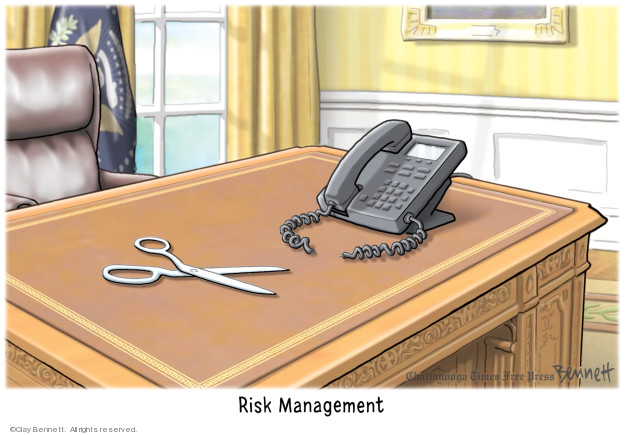 Cartoonist Clay Bennett  Clay Bennett's Editorial Cartoons 2019-10-20 office