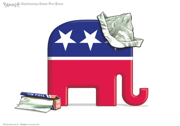 Clay Bennett  Clay Bennett's Editorial Cartoons 2019-11-17 party