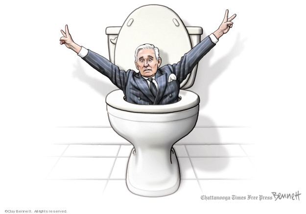 Cartoonist Clay Bennett  Clay Bennett's Editorial Cartoons 2019-11-16 Richard Nixon