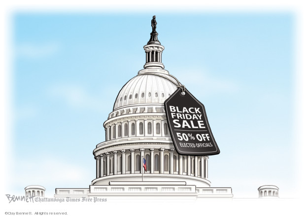 Cartoonist Clay Bennett  Clay Bennett's Editorial Cartoons 2019-11-29 editorial