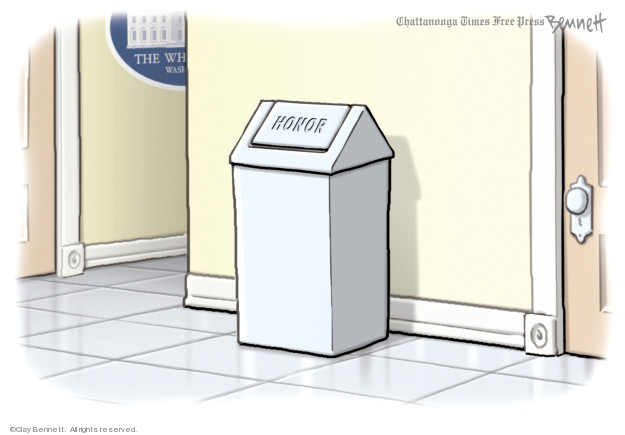 Cartoonist Clay Bennett  Clay Bennett's Editorial Cartoons 2019-12-06 editorial