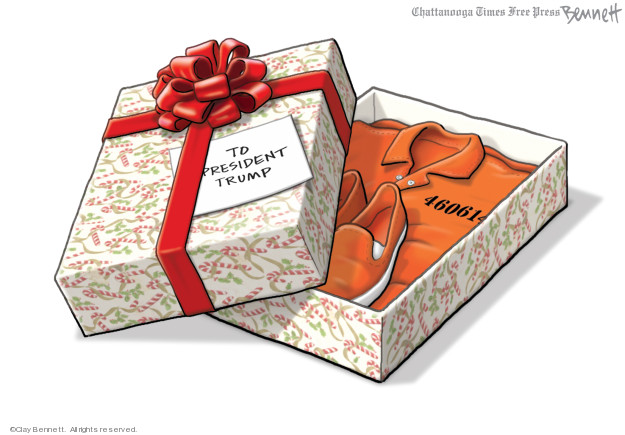 Cartoonist Clay Bennett  Clay Bennett's Editorial Cartoons 2019-12-08 investigation