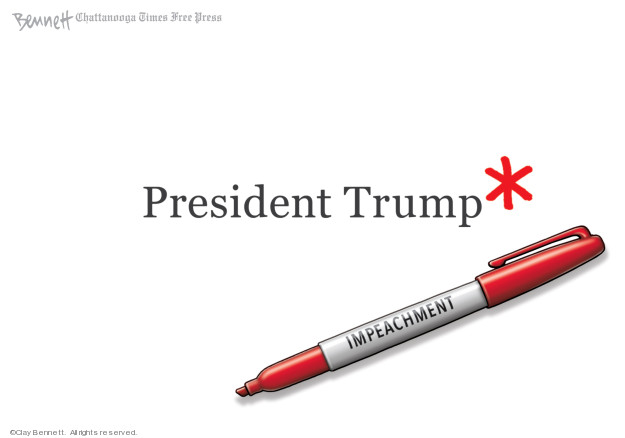 Clay Bennett  Clay Bennett's Editorial Cartoons 2019-12-13 Donald