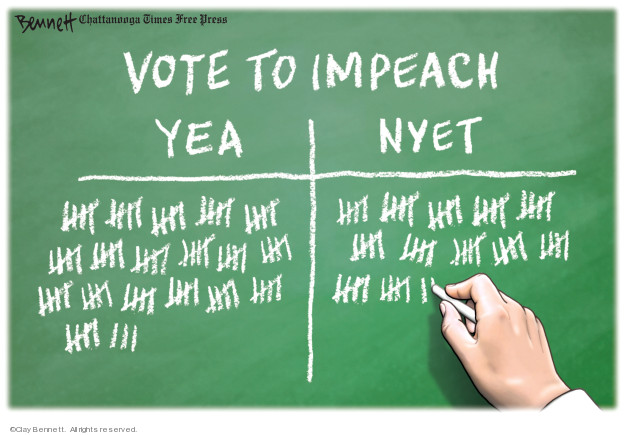 Cartoonist Clay Bennett  Clay Bennett's Editorial Cartoons 2019-12-18 editorial