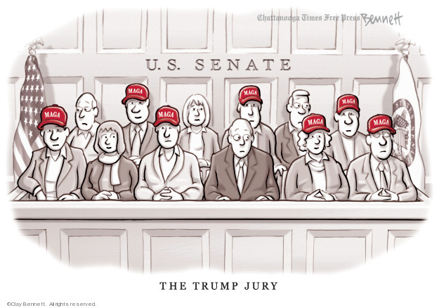 Clay Bennett  Clay Bennett's Editorial Cartoons 2019-12-20 party