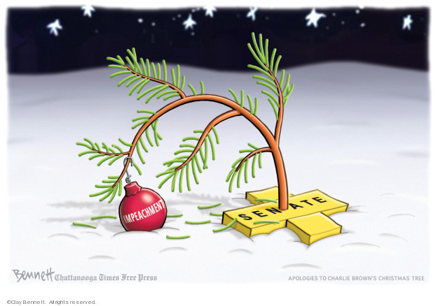Clay Bennett  Clay Bennett's Editorial Cartoons 2019-12-22 trial