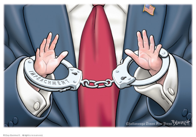 Clay Bennett  Clay Bennett's Editorial Cartoons 2019-12-21 trial