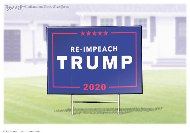 Clay Bennett  Clay Bennett's Editorial Cartoons 2020-01-03 Donald