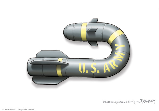 Clay Bennett  Clay Bennett's Editorial Cartoons 2020-01-04 policy