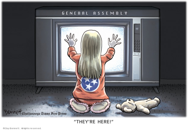 Clay Bennett  Clay Bennett's Editorial Cartoons 2020-01-15 assembly