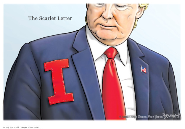 Cartoonist Clay Bennett  Clay Bennett's Editorial Cartoons 2020-01-19 president